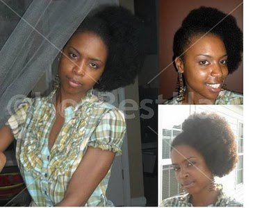 Side Fro- Natural Hair Style Inspiration!