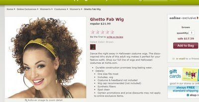 The 'Ghetto Fab' Wig? Really?!