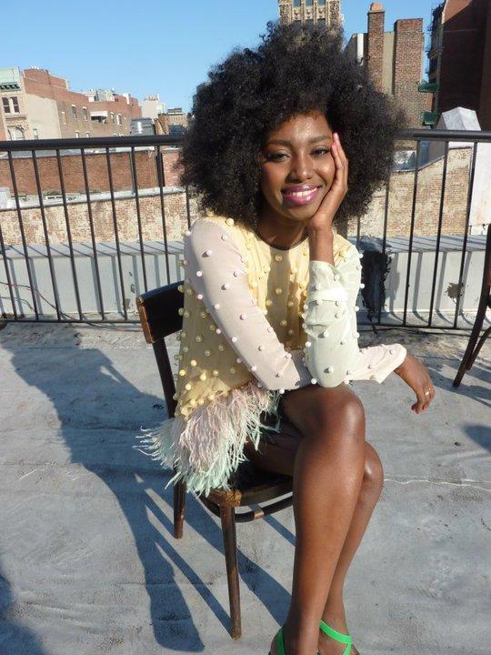 Inna Modja- International Curly Model!