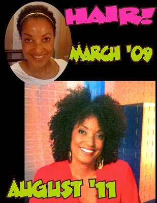Rene Syler on Her Natural Hair at 2.5 Years!