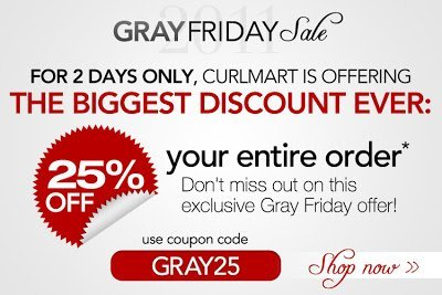 CurlMart's Biggest Sale Ever!
