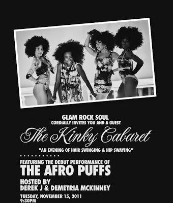 Party w/ Derek J & the Soul Train Award's 'Afro Puffs'