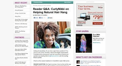 Tips to Help Your Natural Hair Hang Down