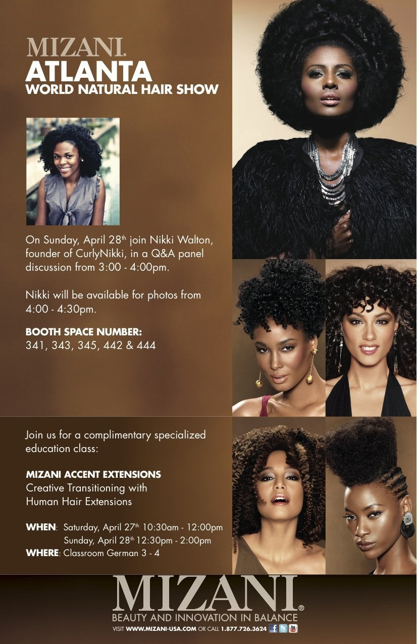 World Natural Hair Show 2013- I'm There!