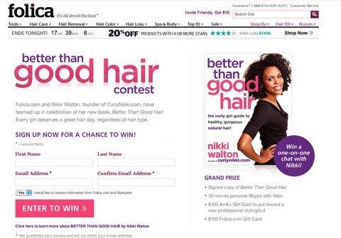 Folica + Better Than Good Hair Giveaway