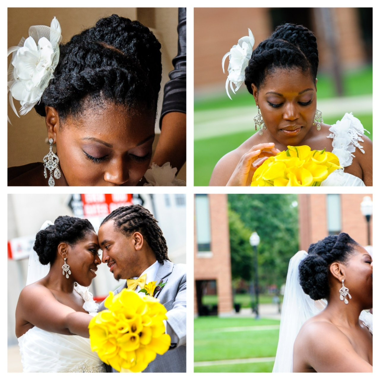 Tracey Boggs: Natural Hair Bride