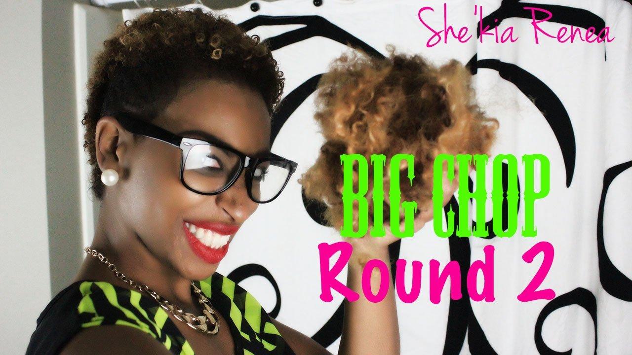 She'kia Renea Big Chops... Again!