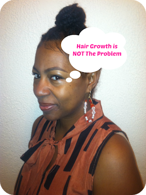 Your Hair Is Growing- Learn to Retain Length!
