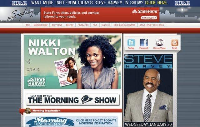CN on The Steve Harvey Morning Show- Hard Water and Hair Health