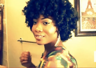 Super Curly Twist-n-Curl- Natural Hair Style Tutorial