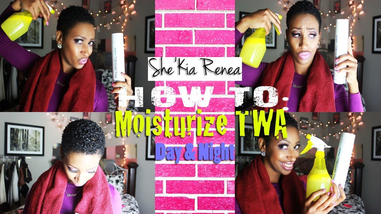 How to Keep Your TWA Moisturized- Short Natural Hair Care