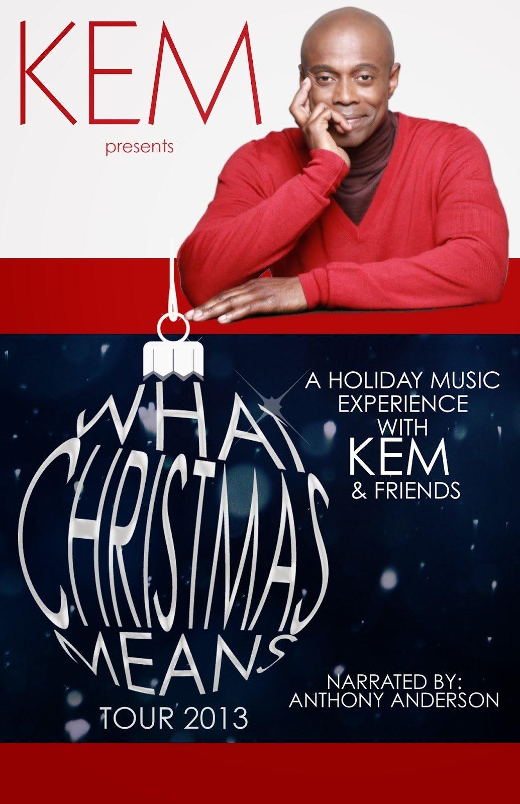 Kem & Friends Holiday Tour- Win Tickets and Meet Him!
