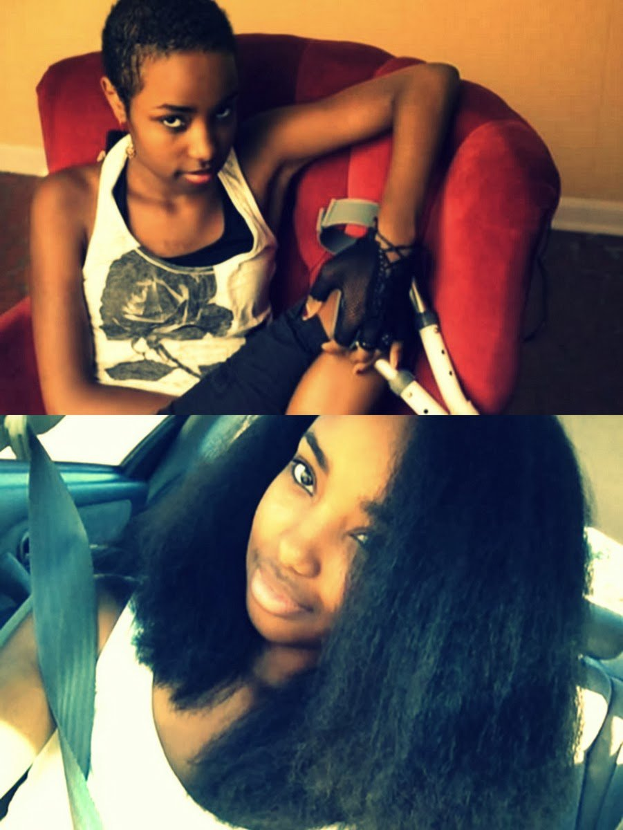 """Morgan's Natural Hair Journey- """"At 13, I went through chemo and lost all of my hair"""""""