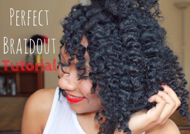 How To Get The Perfect Braidout on Natural Hair