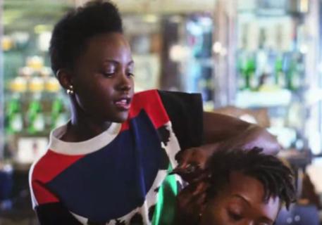 Lupita Nyong'o- 'I really enjoy doing my friends' hair...'