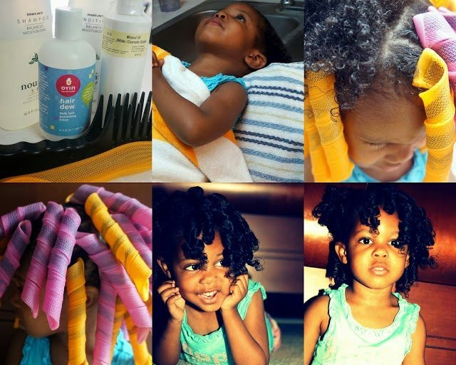 Washing Newborn, Infants and Toddlers Natural Hair