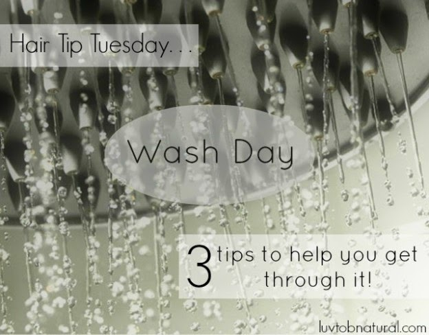 3 Tips to Help You Get Through Wash Day