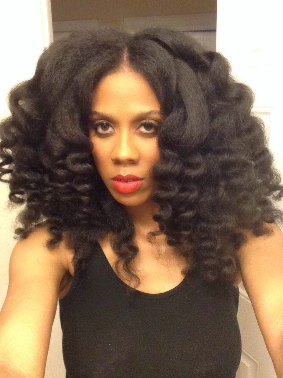 Curling Wand Tutorial for Natural Hair