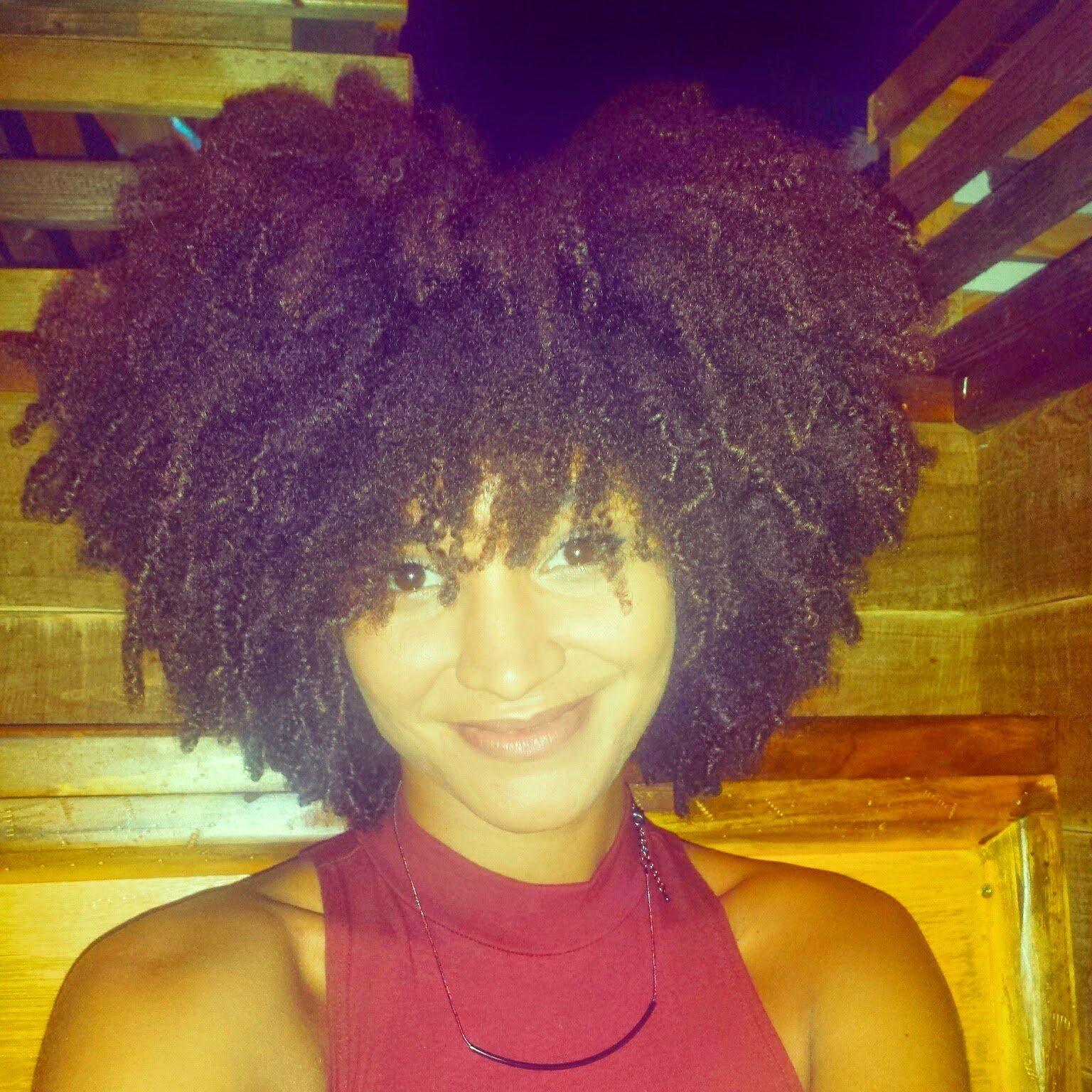 Thicker Natural Hair- Creating the Illusion of Big Hair