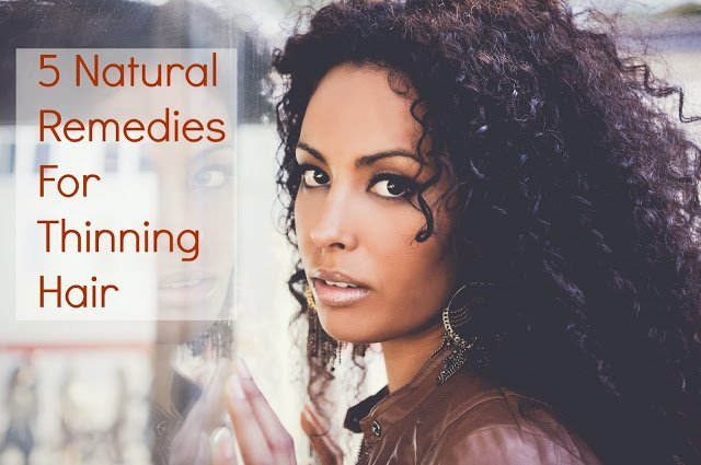Remedies for Natural Hair Loss and Thinning
