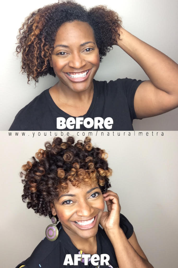 Perm Rod Greatness for Short Natural Hair