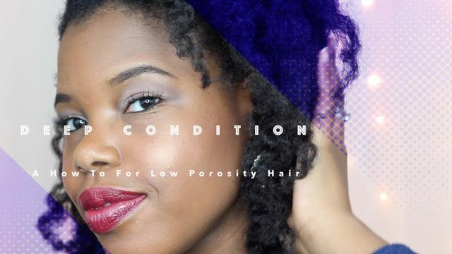 How to Get Moisture into Low Porosity Natural Hair