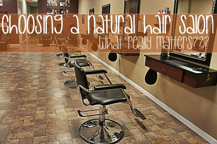 How to Choose a Natural Hair Salon