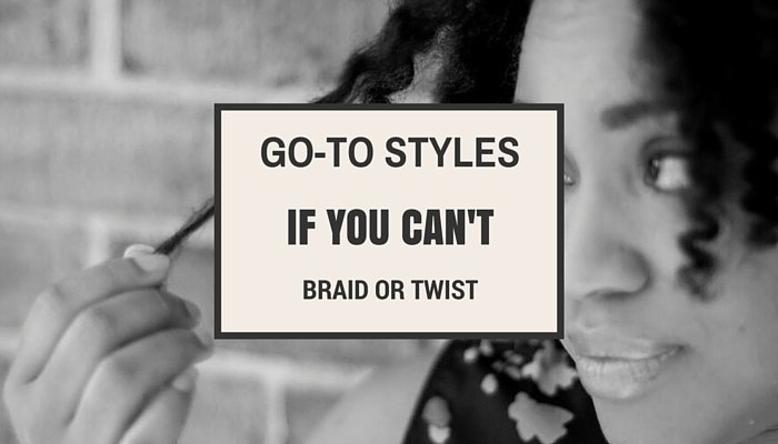 6 Super Easy Styles if You Can't Braid or Twist