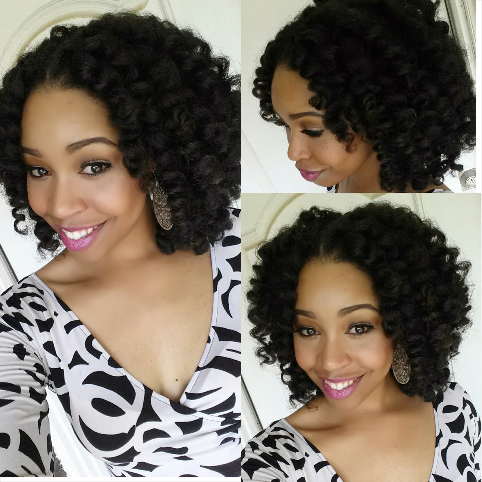 Crochet Braids with Marley Hair - Protective Style Tutorial