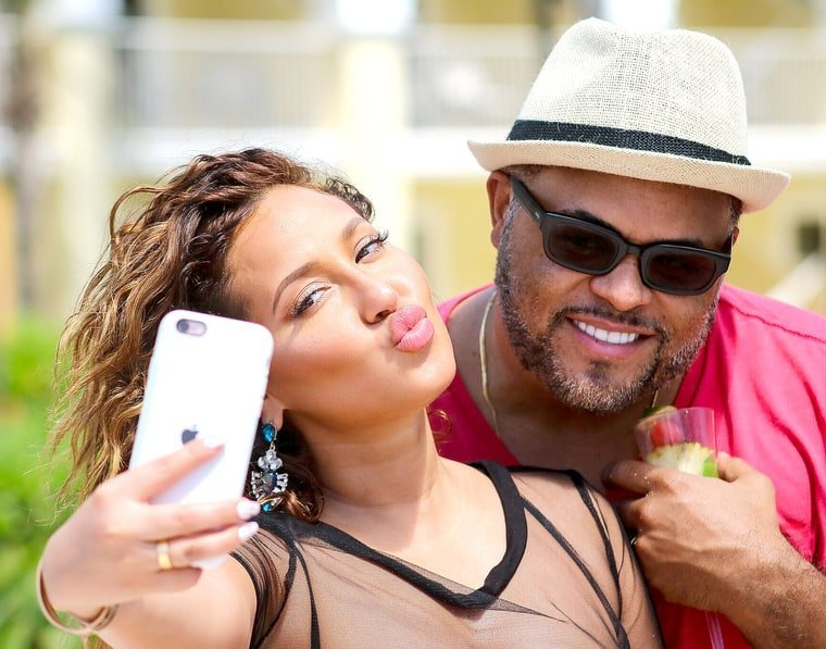 Trading His Sorrows: Israel Houghton is Moving Forward with Adrienne Bailon