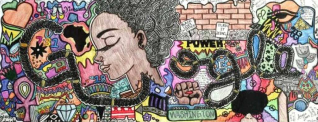#BlackLivesMatter Is the Theme of Winning Google Doodle by Akilah Johnson