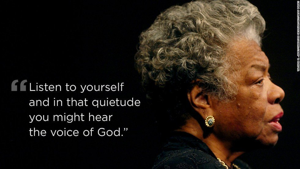 A LIBRARY THAT BURNS...REMEMBERING MAYA ANGELOU
