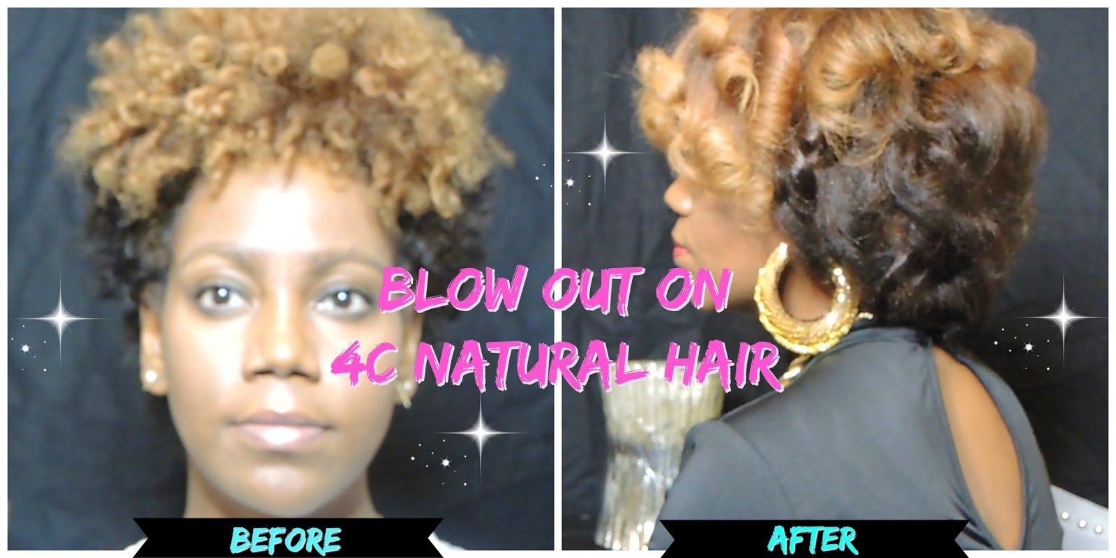 How to Safely Straighten Your 4c Natural Hair