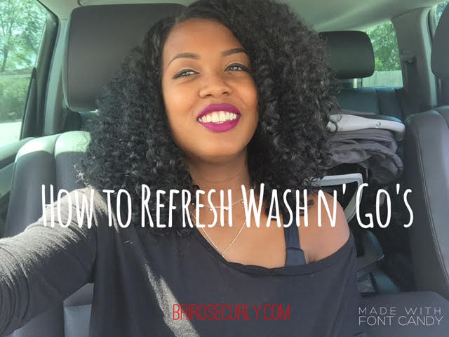 How to Refresh Your Wash and Go!
