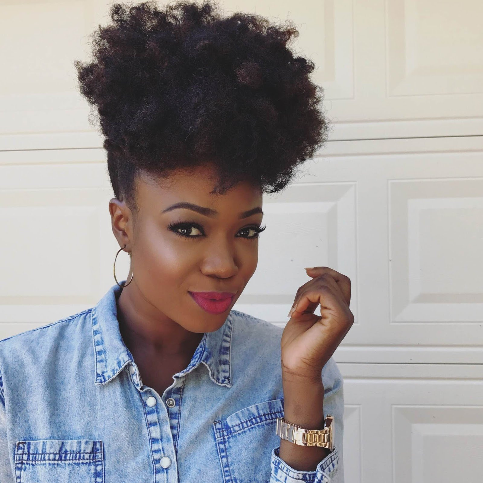 Create the Perfect Afro Puff!