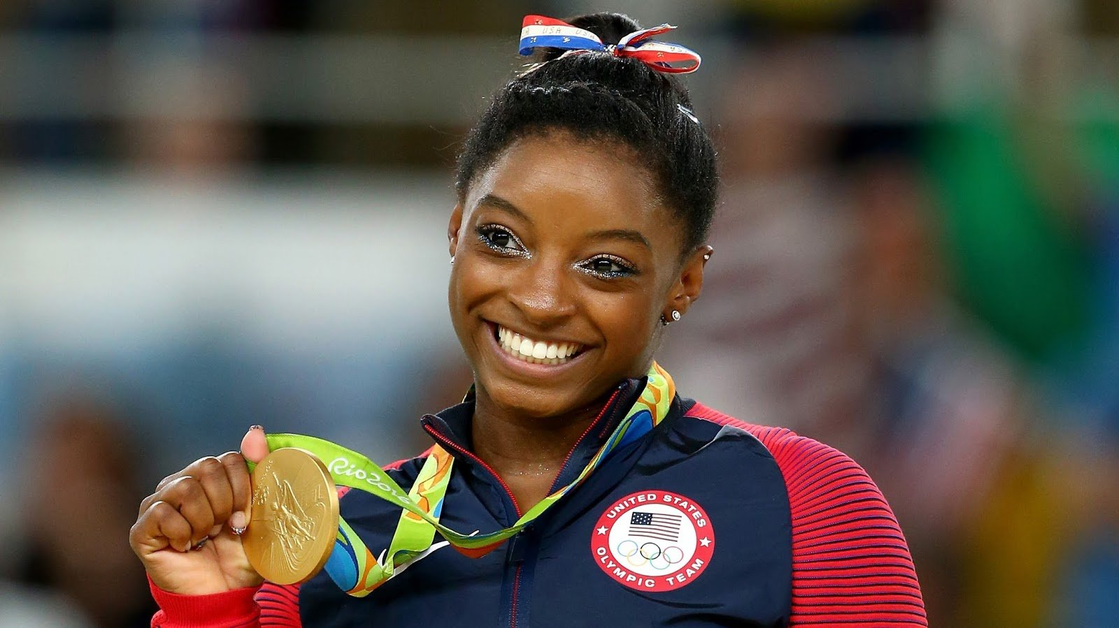 Simon Biles Is Named AP Female Athlete Of The Year