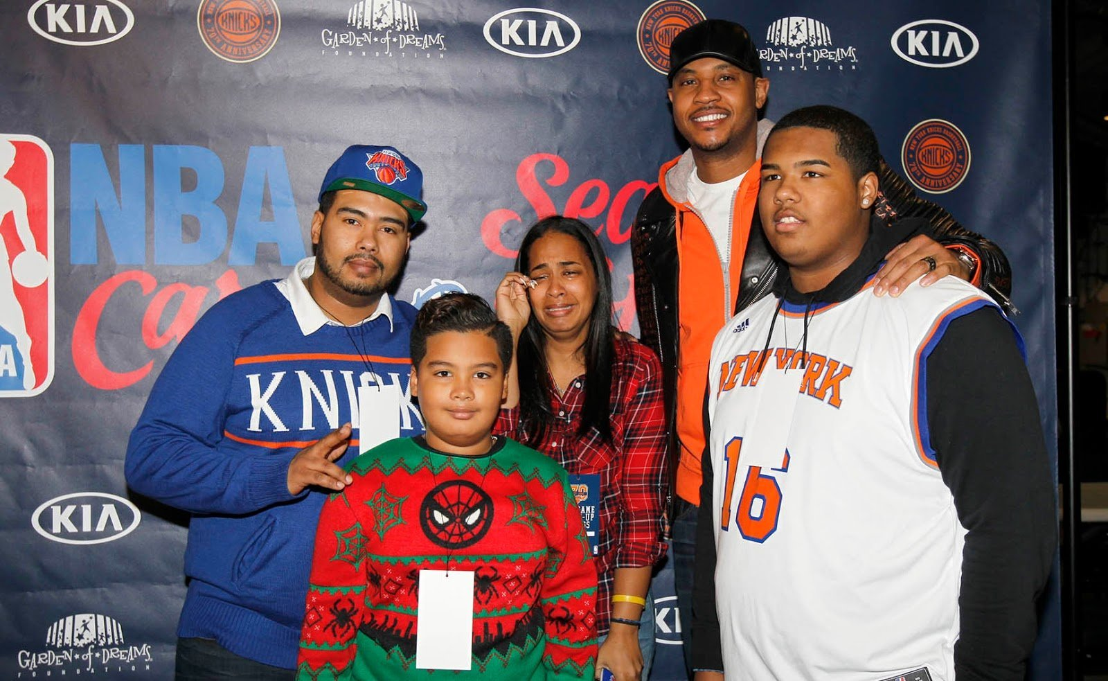 Carmelo Anthony Surprises Cancer Patient With Car For Christmas