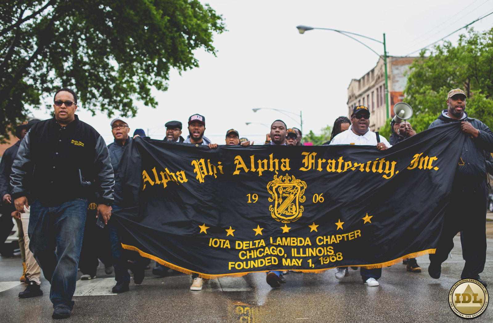 """Hundreds Of Alphas Marched Through The Southside of Chicago In Effort To """"Save Our Streets"""""""