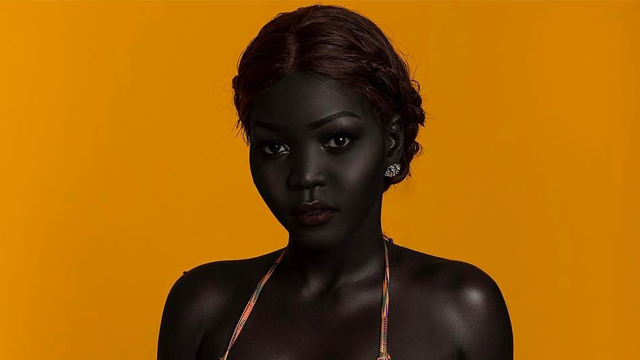 This South Sudanese Model Celebrates Melanin Beauty After Being Asked If She'd Bleach Her Skin for $10,000