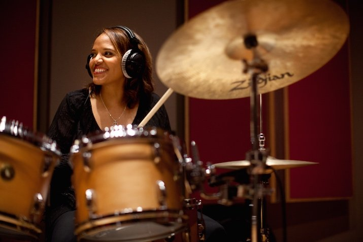 This Grammy Award-Winning Drummer Wants To Inspire Young Black Girls To Play An Instrument