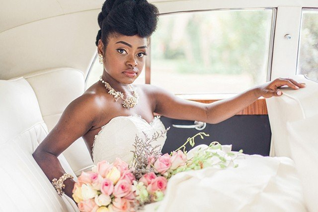 5 Wedding Hairstyles For Black Women