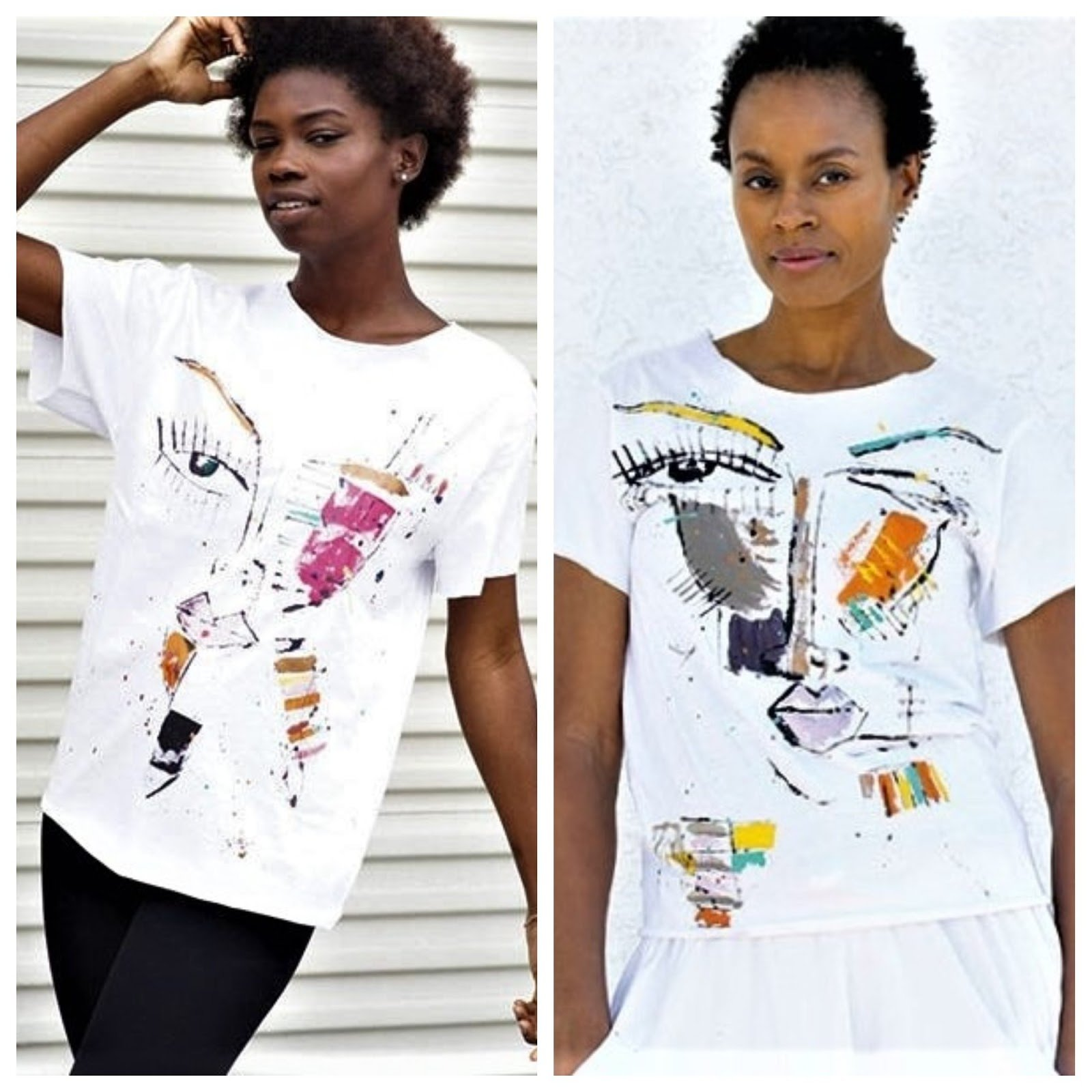 And the Winners of the Miles Regis Collection Painted T-Shirt Giveaway Are...