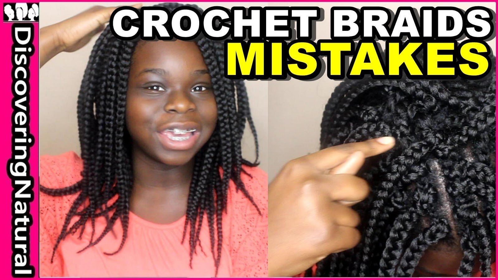Crochet Braids: What Mistakes To Avoid.