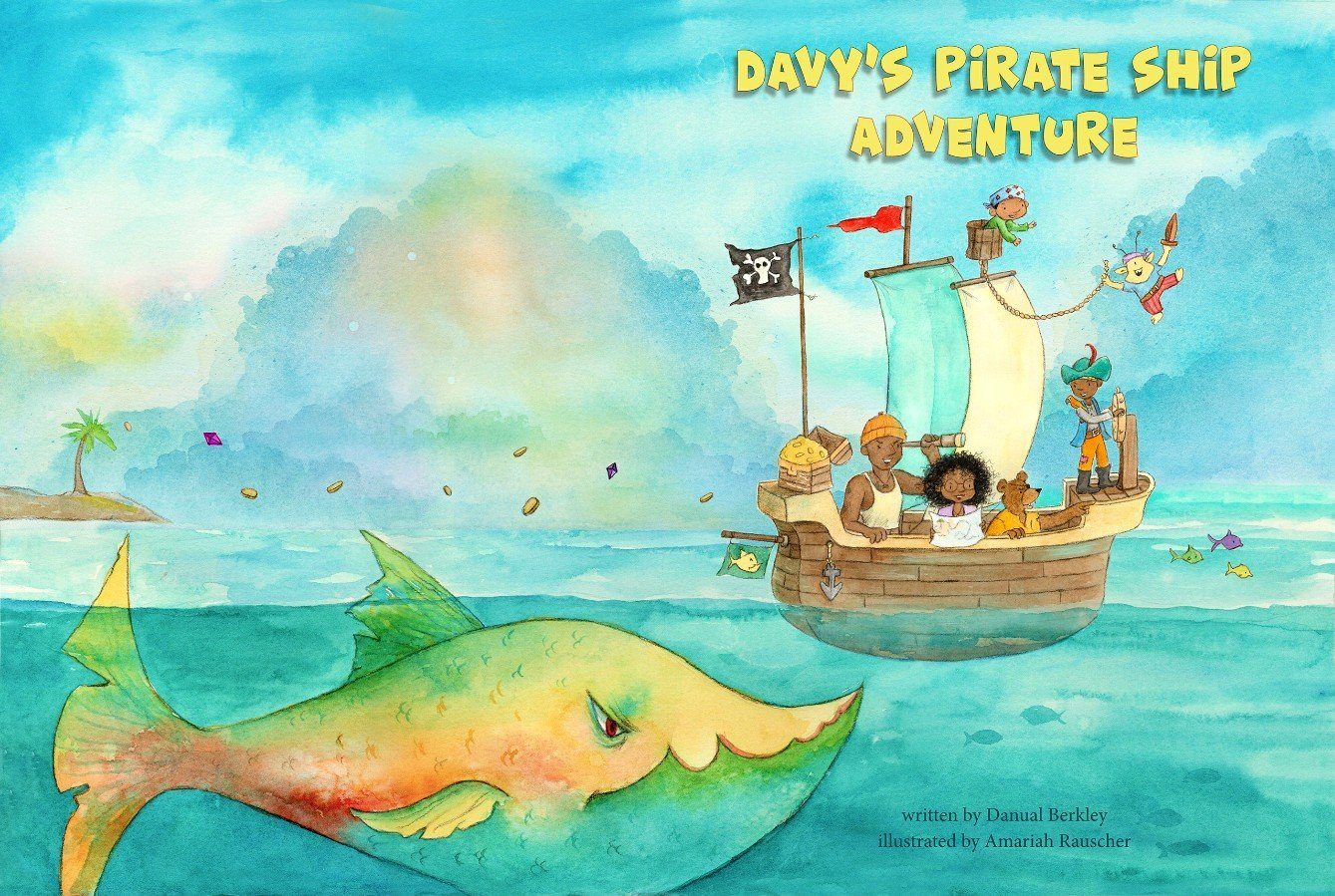 This Man Created a Pirate Adventure Book So His Sons Could See Themselves