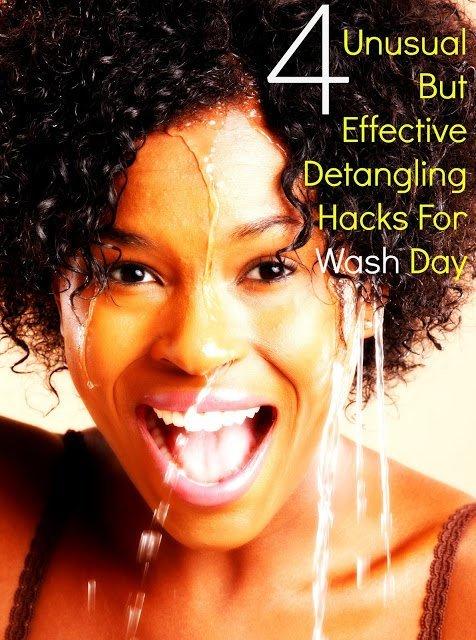 4 Wash Day Hacks: Detangling Natural Hair the Easy Way