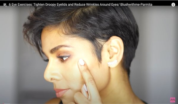 How to Tighten Droopy Eyelids and Reduce Wrinkles, Naturally w/ Face Yoga!