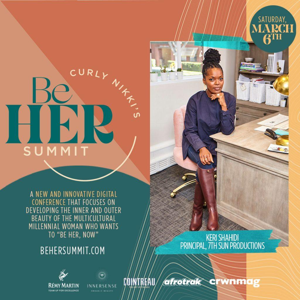 CurlyNikki's BeHer Summit - March 6th!