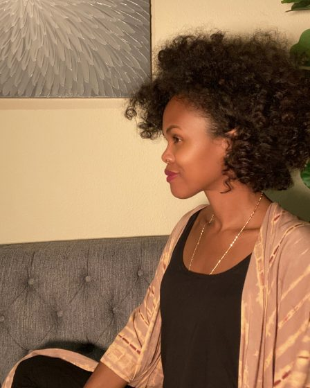Bantu Knot Outs on Super Fine, Blow Dried Natural Hair With Pictures!