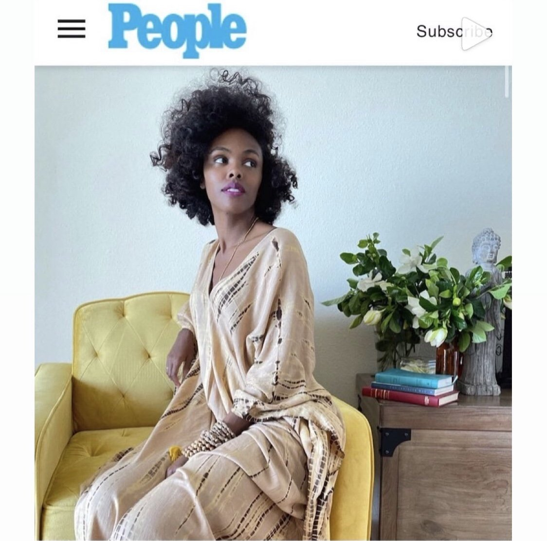The Evolution of the Natural Hair Movement - CurlyNikki in People Magazine