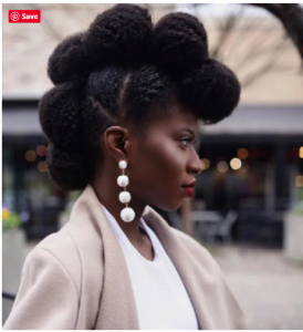 4c hair type influencer @Verifiednaturallytemi